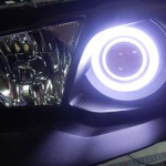 CX4A ギャラン ヘッドライト加工