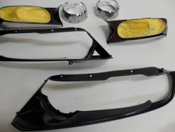 RB オデッセイ ヘッドライト 加工 塗装