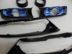 RB オデッセイ ヘッドライト インナー塗装 LEDリング