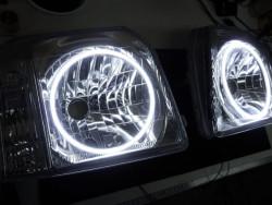 ホビオ バモス ヘッドライト加工